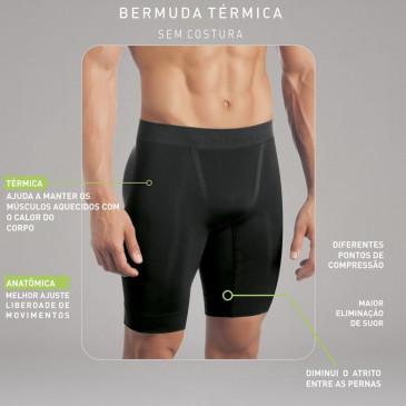 218e8aea241ed Bermuda Térmica Selene sem Costura Masculina