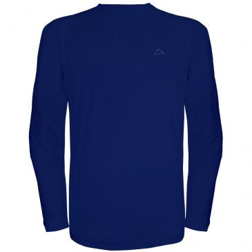 ... Camiseta Conquista Dry Cool Masculina Manga Longa. Marinho d1f7fd405a865
