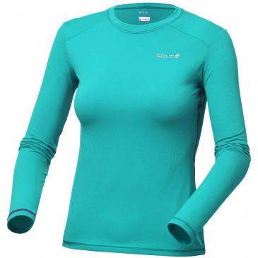 e7fd5ba07 Camiseta Solo Ion UV Lady Azul Turquesa