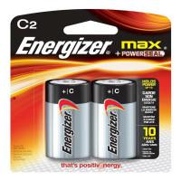 Pilhas Alcalinas Energizer Max C2