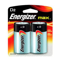 Pilhas Alcalinas Energizer Max D2