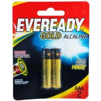 Pilhas Alcalinas Eveready Gold AAA-2